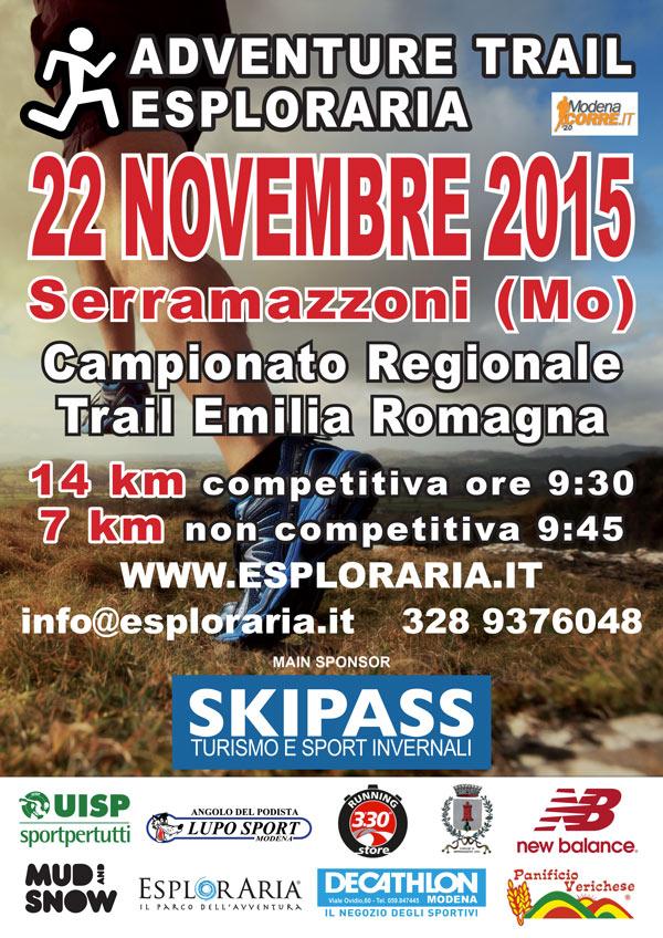 trail Serramazzoni 2015 fronte